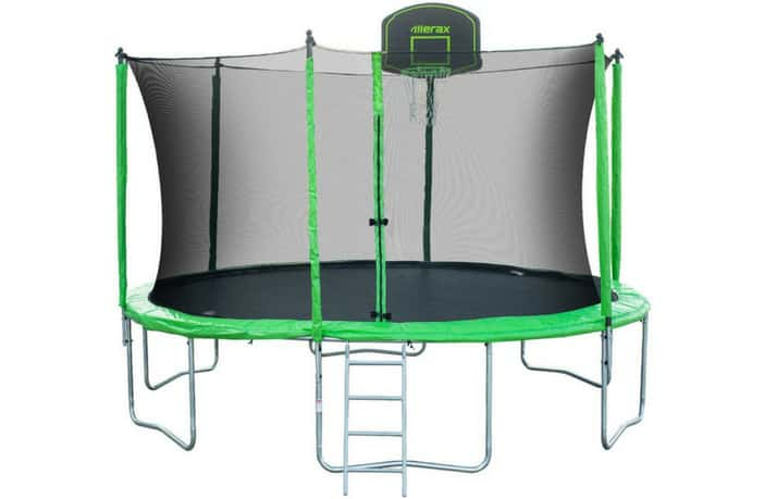 Merax Trampoline 14ft Round With Enclosure Review