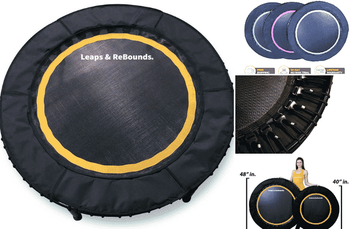 Leaps & ReBounds Bungee Rebounder Trampoline Review