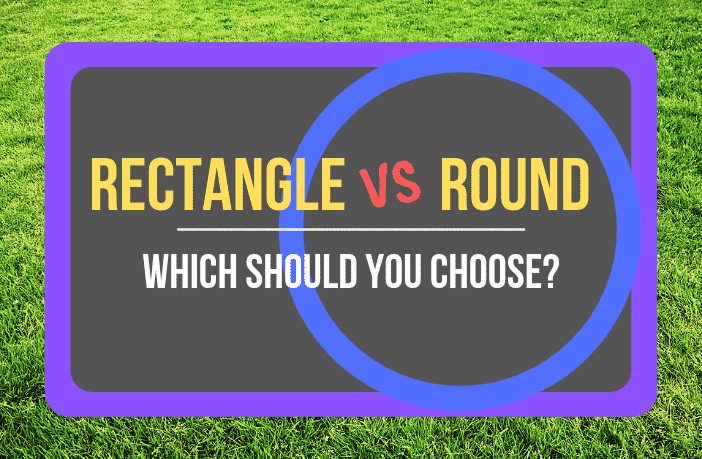 Rectangle vs Round Trampolines