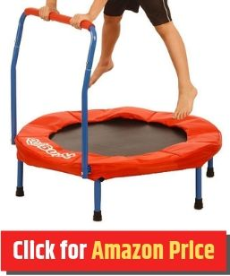 Kangaroo Hopper - Mini Trampoline for Kids - The Jump Central