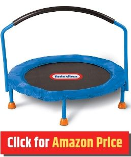 Little Tikes - Mini Trampoline for Kids - The Jump Central