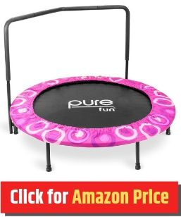 Pure Fun Super Jumper - Mini Trampoline for Kids - The Jump Central