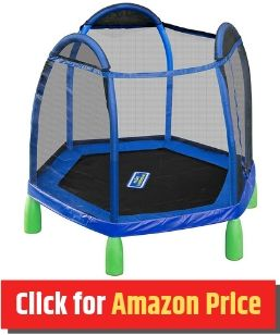 SportsPower My First - Mini Trampoline for Kids - The Jump Central