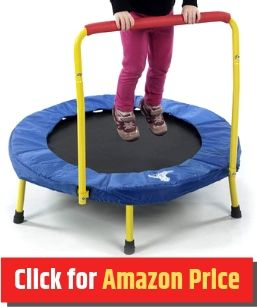 The Original Toy Company - Mini Trampoline for Kids - The Jump Central